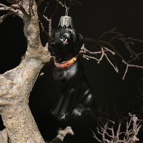 DOG LABRADOR xmas decor