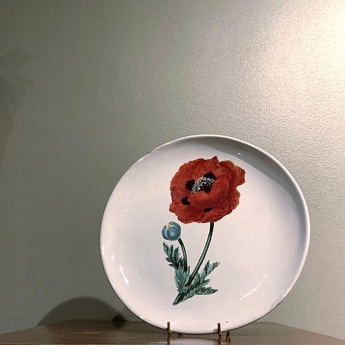 A.d.V PLATE Poppy