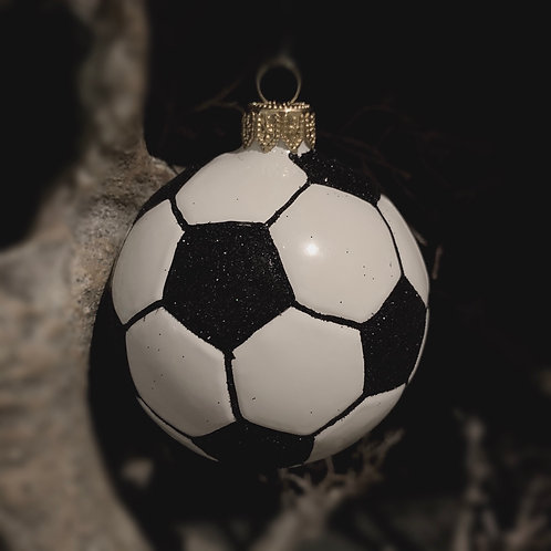 SOCCER FOOTBALL xmas decor