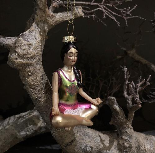 YOGA GIRL Xmas tree decor