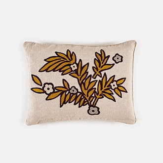 CUSHION COVER 'Riviera', gold