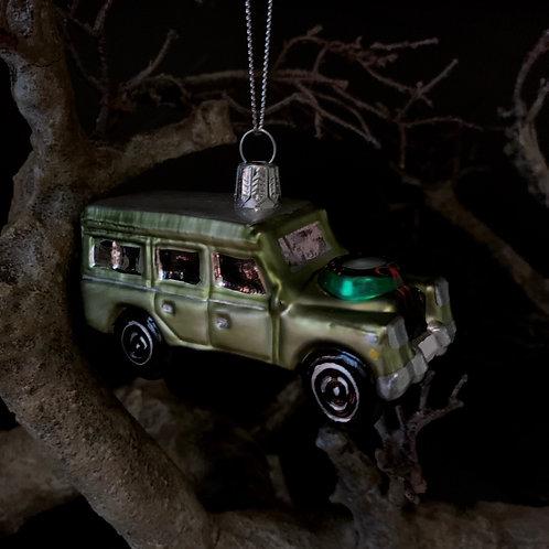 COUNTRY CAR Xmas tree decor
