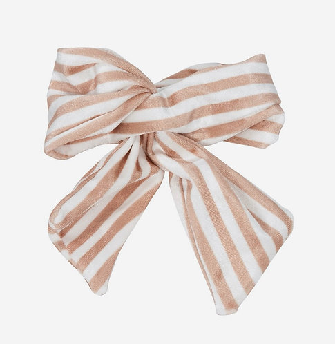 HAIRCLIP VELOUR BOW RIVIERA