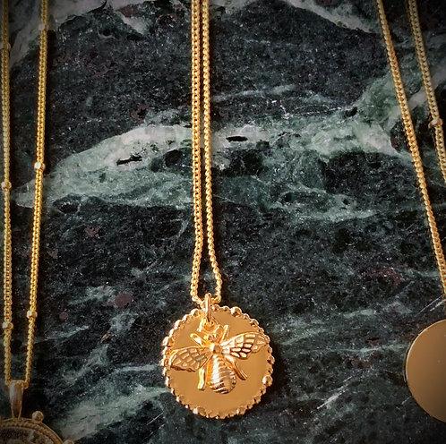 Necklace pendant BEE