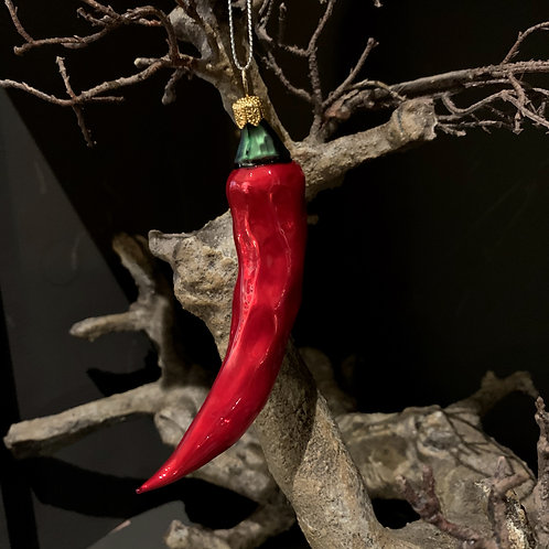 RED CHILI Xmas tree decor