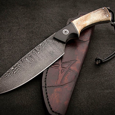 VSH05XLD Damascus Hunting knife