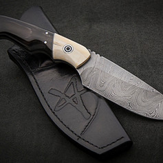 VSH07DTH Damascus Hunting Knife