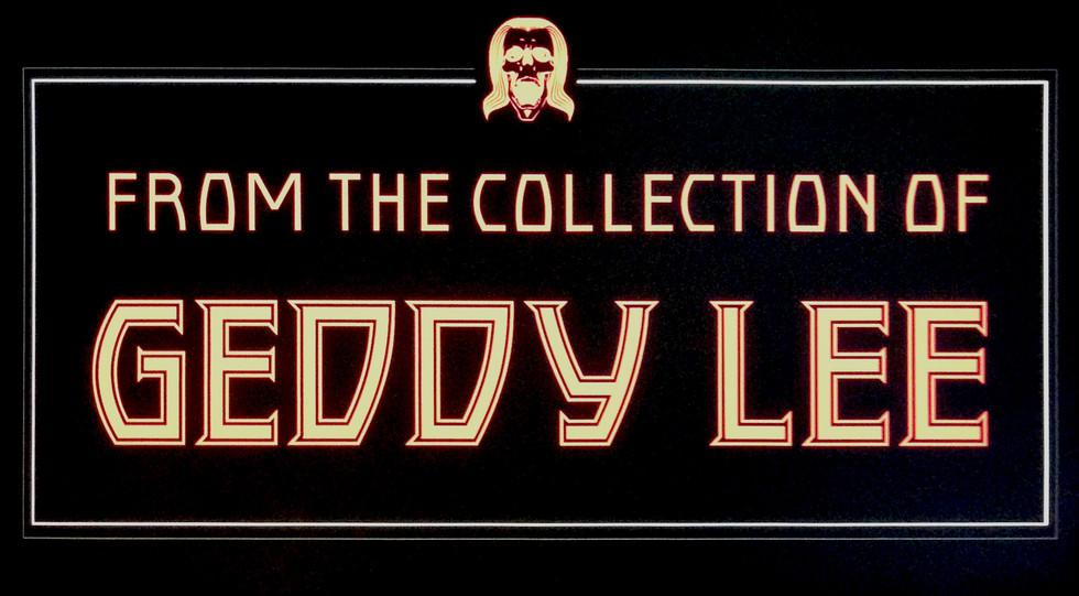 Geddy Lee Exhibit Logo