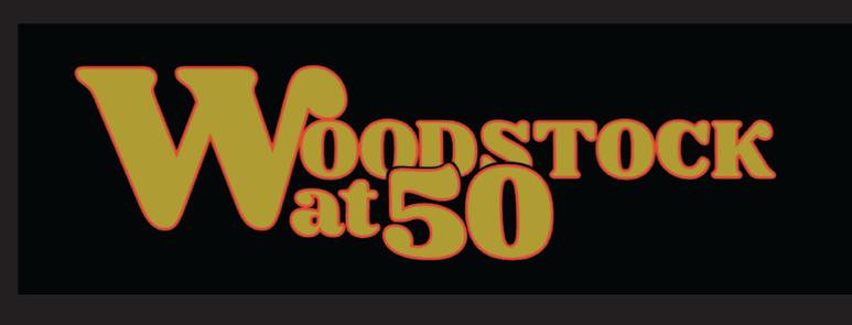Woodstock at 50 logo