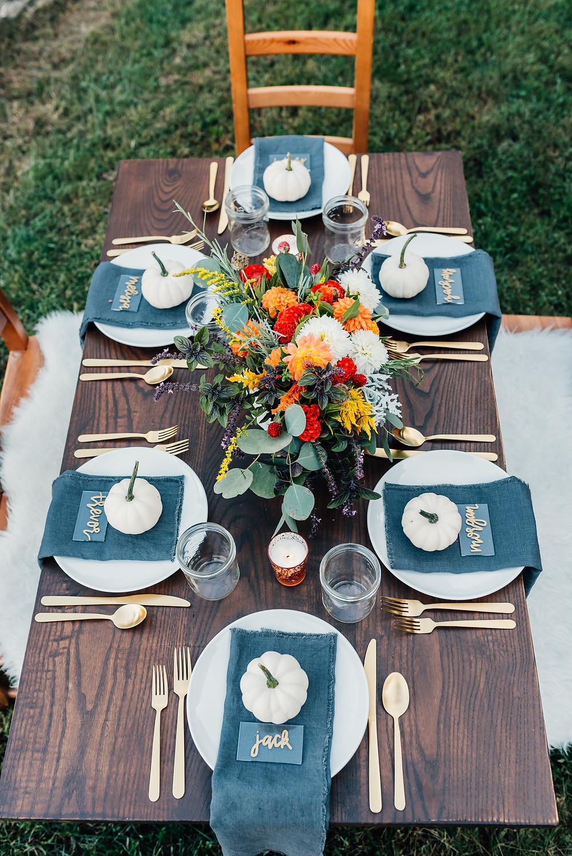 tablescape home decor holiday decor thanksgiving seasonal decor harford county florist furtniture