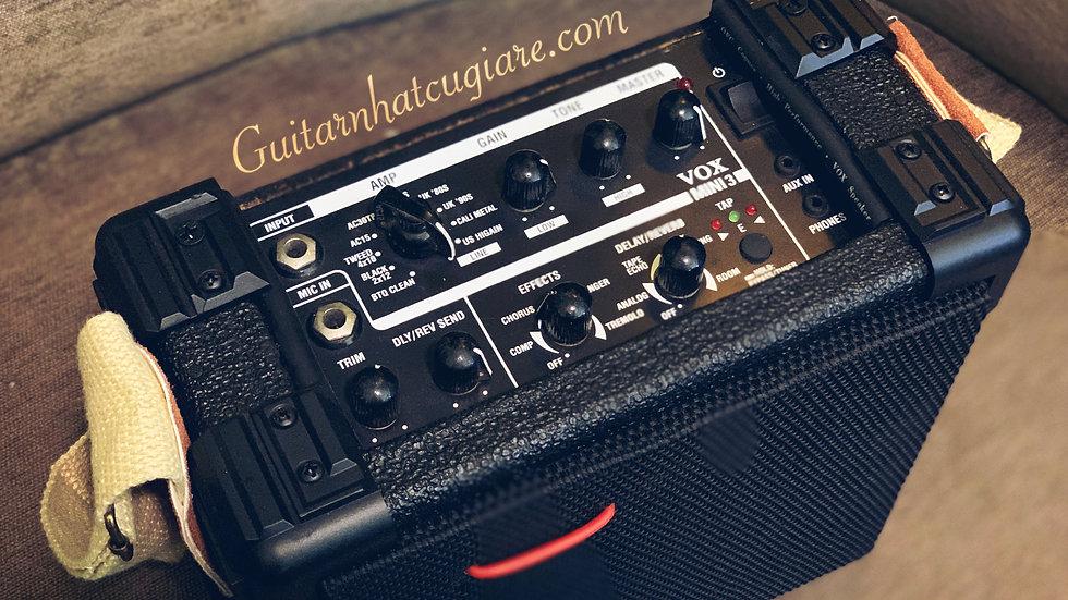 Loa ampli guitar (DIY) Vox mini3 for vacation