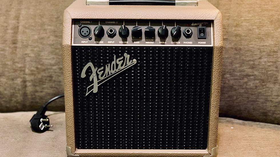 Amplifier Fender cũ Acoustasonic 15