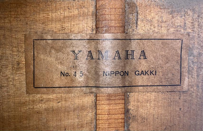 Guitar classic Yamaha_No45 Nippon Gakki fullsolid 1960s .
