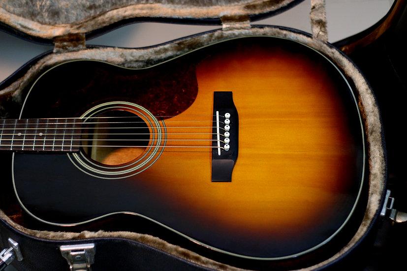 Guitar Morris MF256 dáng A nhỏ gọn made in Korea 1990s .