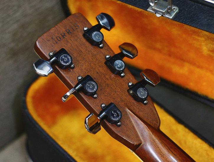 Guitar Morris W60 Special made in Japan 1970s .