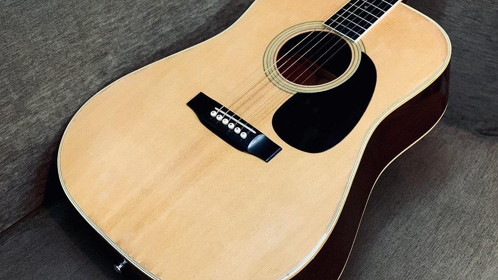 Guitar Nhật Morris W20 1980s