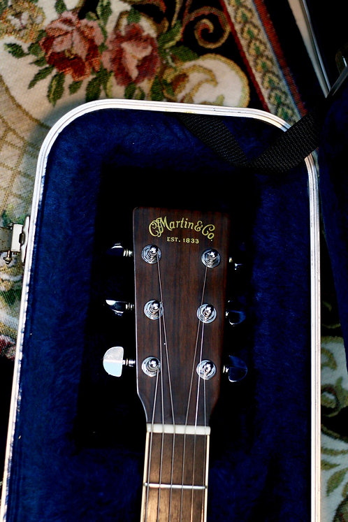 Guitar acoustic Martin D35 Made in USA 1995 .
