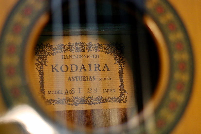 Guitar classic Kodaira Asturias AST28 top solid Cedar