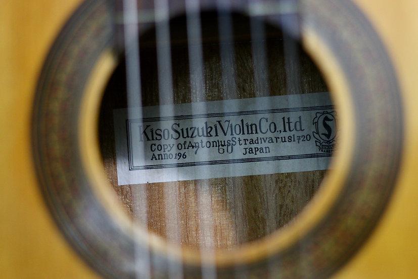 Guitar classic Kiso Suzuki no.60 từ năm 1967 .