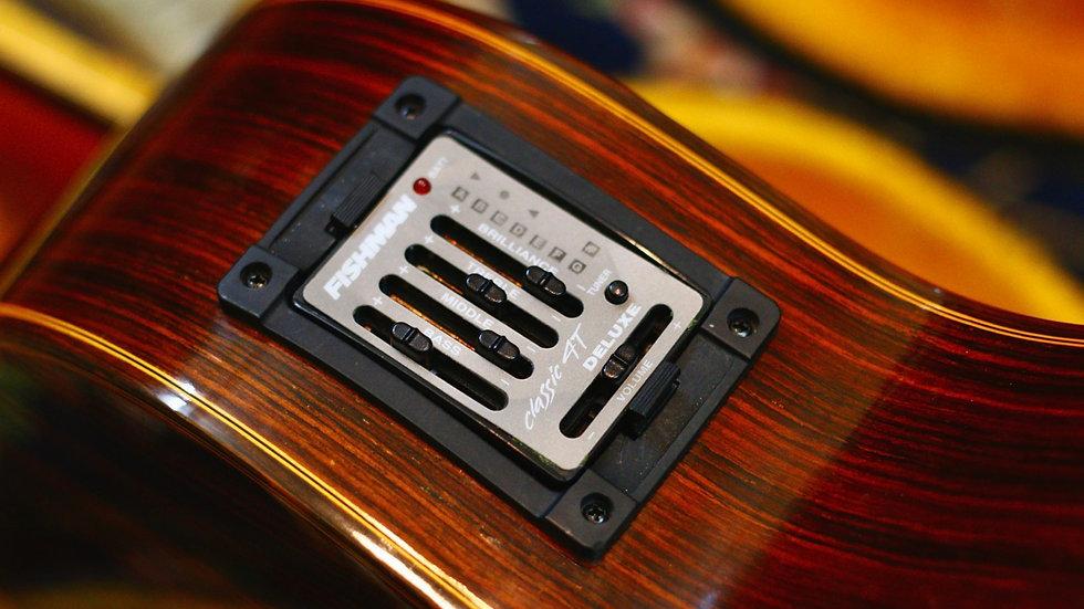 Cervantes MC500 classic guitar + EQ Fishman classic 4.