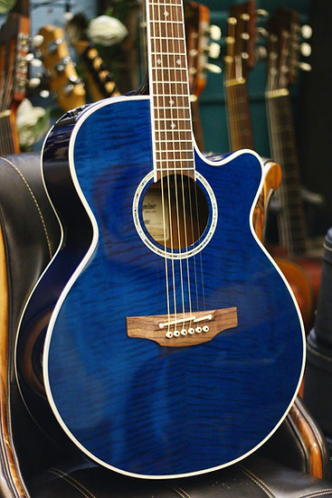 Guitar acoustic Takamine PTU10I Made in Japan.