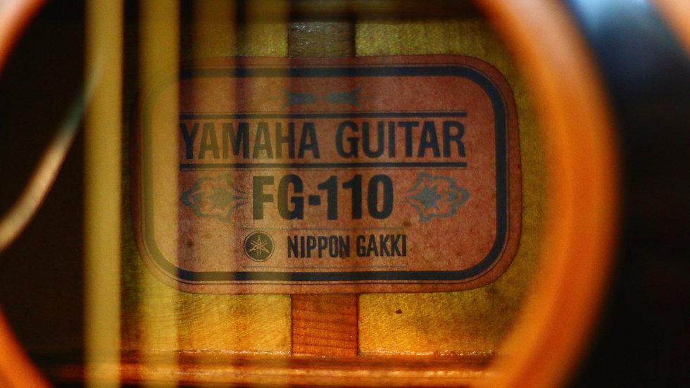 Yamaha FG110 tem đỏ Made in Japan 1960s + EQ