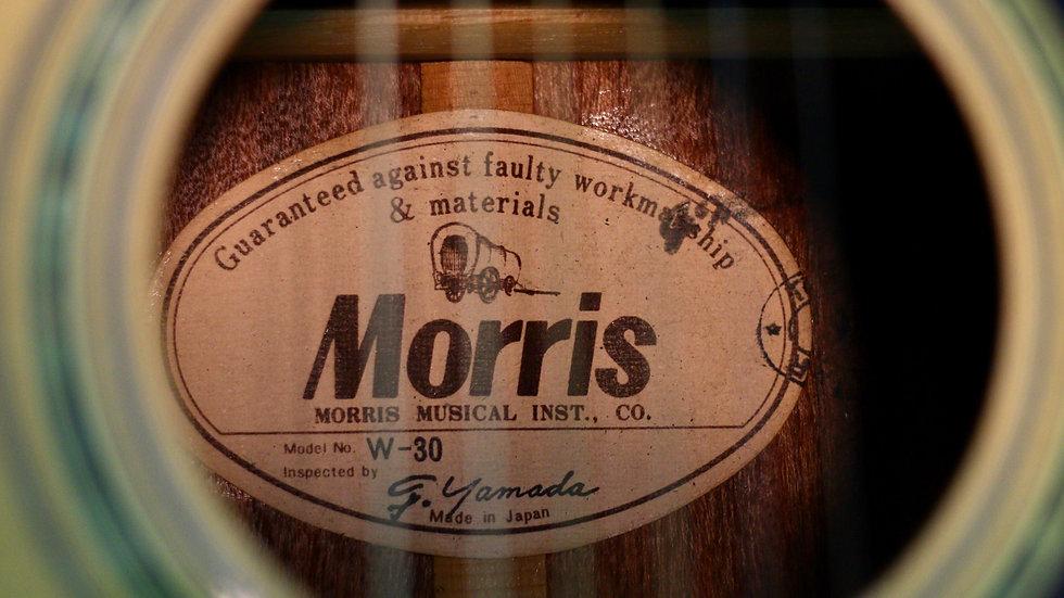 Guitar Morris W30 đẹp từ 1980s