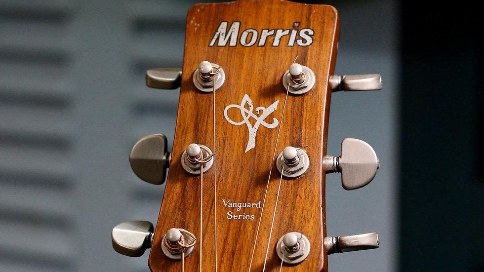 Guitar Morris MV701 vintage 1980s + EQ Artec.