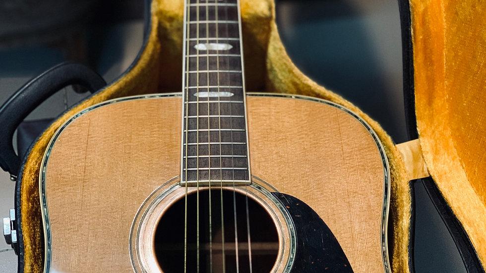 Guitar acoustic Morales by Zenon guitar vintage 1960.