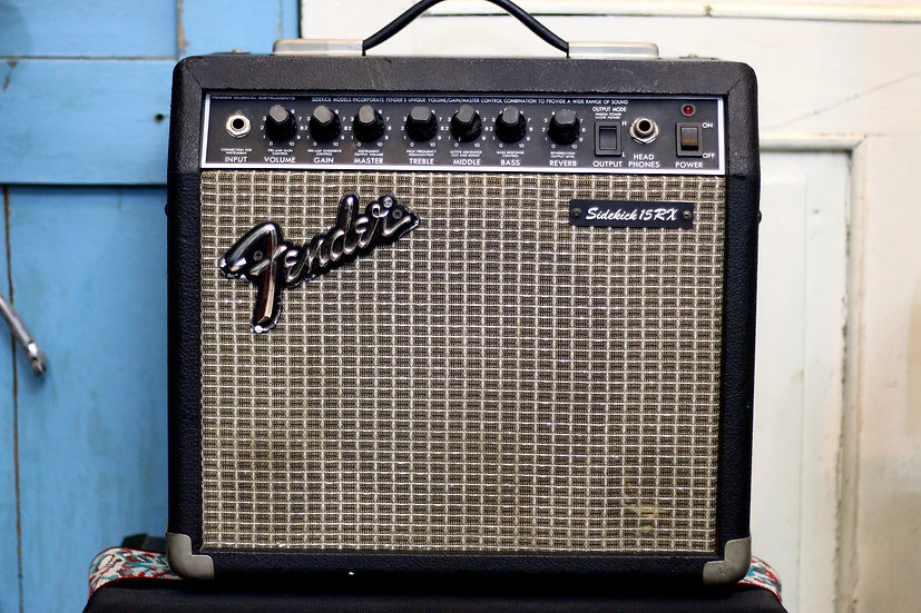 Amp Fender Japan Sidekick 15RX Reverb 1990 .