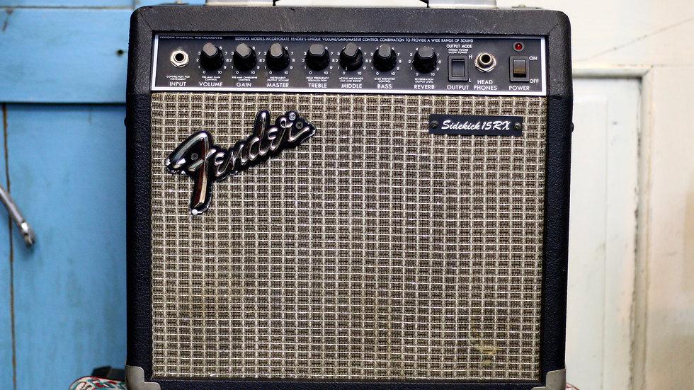 Amp Fender Japan Sidekick 15RX Reverb 1990 .