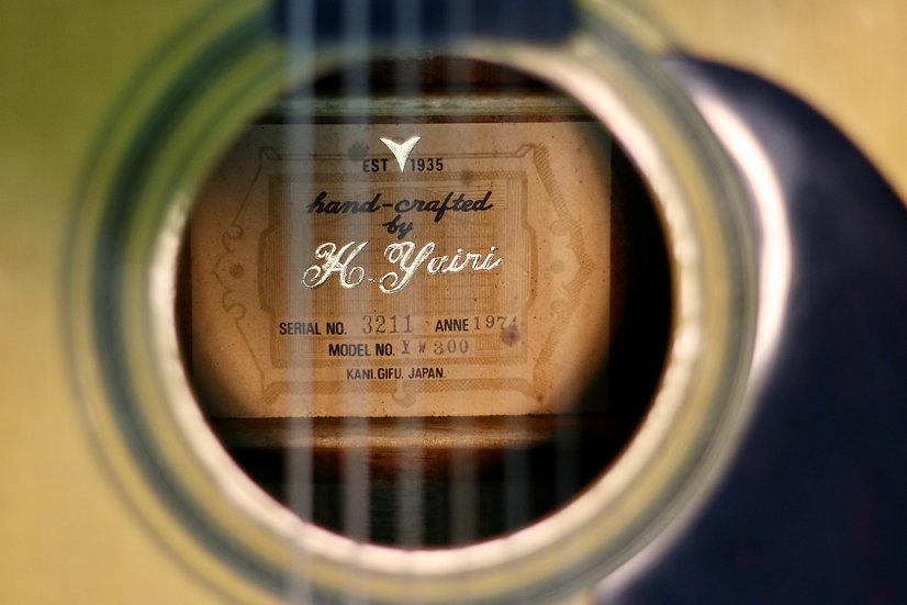Guitar K.Yairi YW300 vintage 1974 .