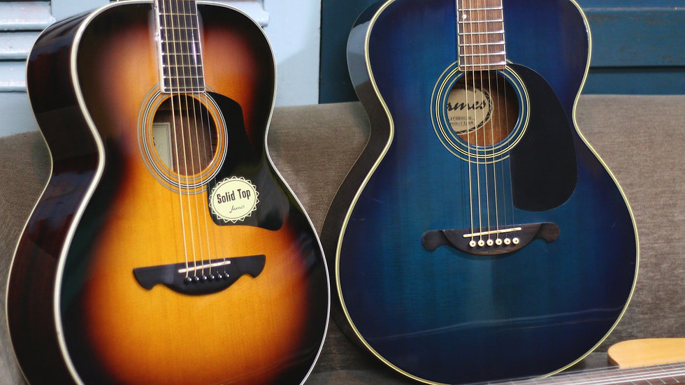 Guitar Acoustic James JF top solid .