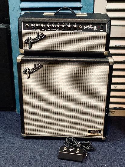 Amp Fender Japan SVH Studio Valve + Cabinet G408CE + Pedal