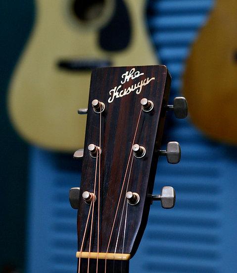 Guitar Nhật fullsolid The Kasuga BG-100 MIJ Vintage 1970s.