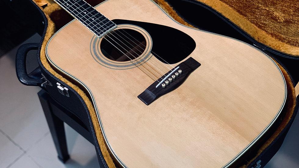 Guitar acoustic Yamaha FG301B made in Japan 1980s