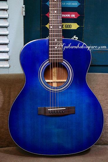 Aria Dreadnought AF201 acoustic guitar .