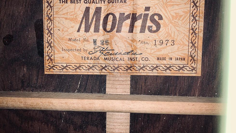 Guitar Morris W25 vintage 1973