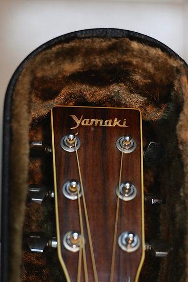 Guitar acoustic Yamaki YW30 vintage 1970s .