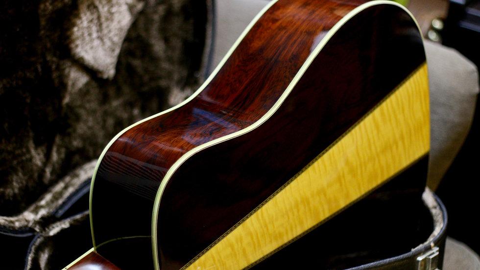 Guitar acoustic Morris TF W60 1979 .