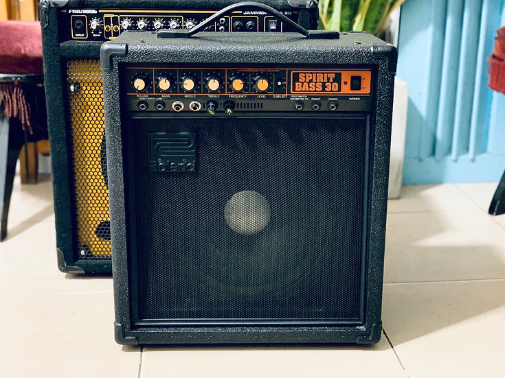 Amp guitar Nhật Roland DIY Bluetooth & Mic 🎙 hát.