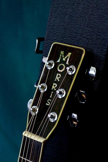 Guitar Morris W50 Special vintage 1975 .
