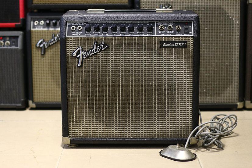 Loa ampli guitar Fender Sidekick35RX Reverb Made in Japan 1990.