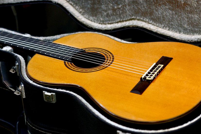 Guitar classis  Ryoji Matsuoka M40 đẹp như mới từ năm 1986 .