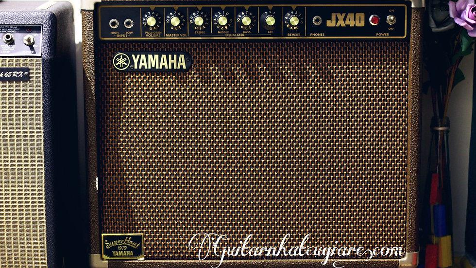 Guitar amplifier Yamaha JX40 reverb 1980s