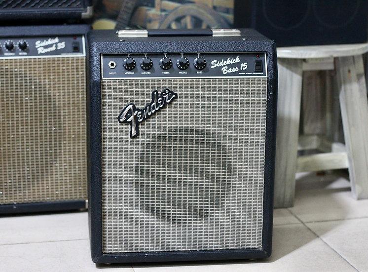 Loa ampli guitar Fender Sidekick 15 Bass MIJ 1985 .
