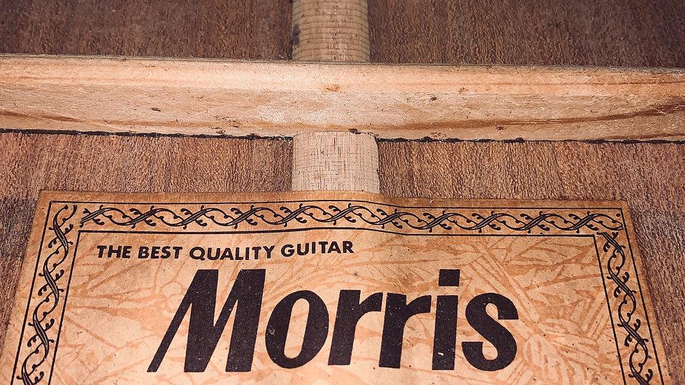 Guitar folk acousticMorris FD15vintage 1973.