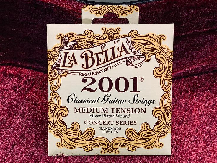 Dây đàn guitar cổ điển La Bella 2001 Medium Tenson