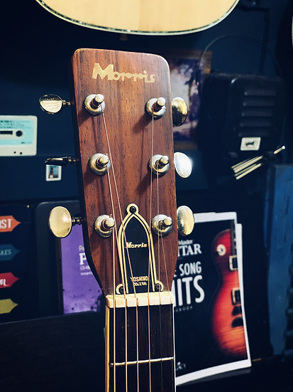 Guitar Morris FD18 vintage 1972
