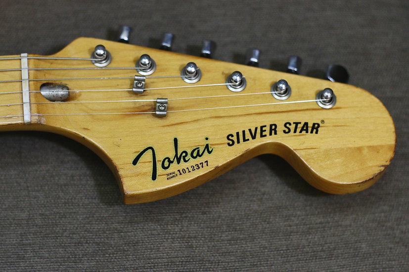 Eguitar Tokai Silver Star vintage 1981 .